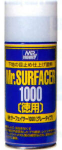 Mr-Hobby-Surfacer-1000-Deluxe-170ml-Spray-B519-GSI-Creos-Paint-Primer-Supply-Can