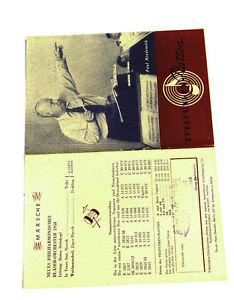 Schellack k120 Gutherzig Telefunken Platten Katalog Folge 1/ 1951 Top Zustand! Periodika & Kataloge