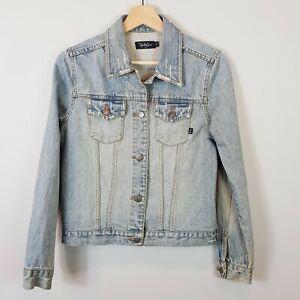 TIGERLILY Vintage  | Womens Denim Jacket  [ Size S or AU 10 / US 6 ]