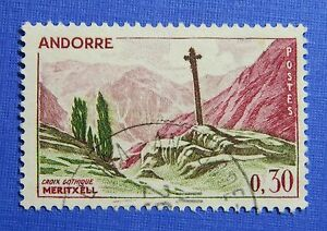 Andorra Industrious 1961 Andorra French 30c Scott# 148 Michel # 169 Used Cs29076 Wide Selection;