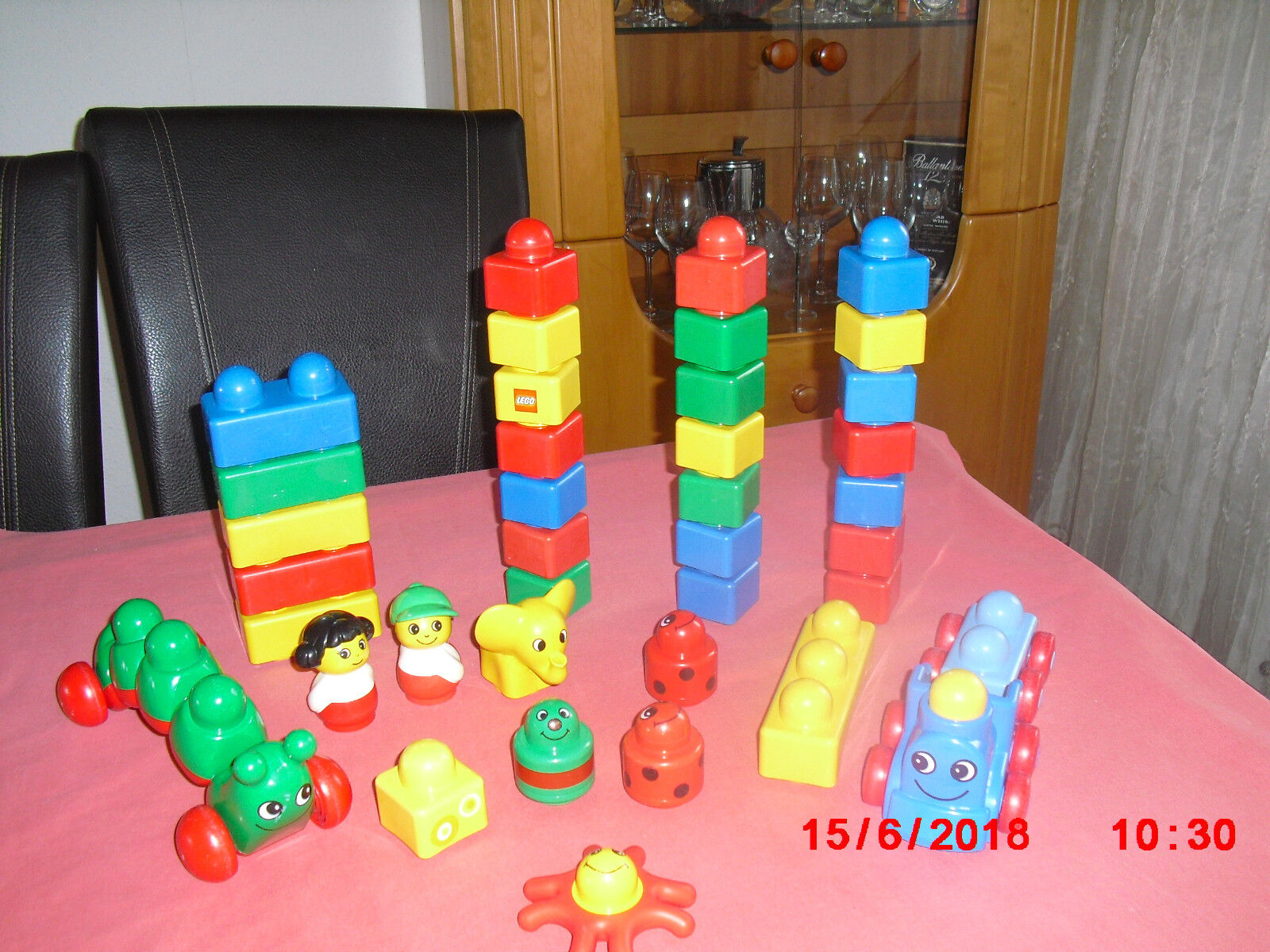 Lego Duplo  Primo großes Set   38  Teile  ( 3 )  | Erschwinglich