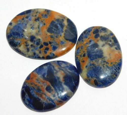 Natural Beautiful Sodalite Cabochon Loose Gemstone Wholesale Lot LA 40455