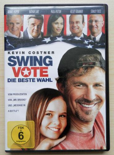 1 von 1 - Swing Vote - Die beste Wahl   - DVD - mit Dennis Hopper & Kevin Costner