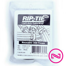 """Rip-Tie RipWrap - 1 Roll, 2"""" x 30', Black - G-20-030-BK"""