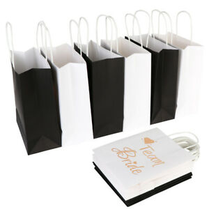 Details About 2pcs Bridesmaid Gifts Bags Groomsmen Gift Bags Bachelor Party Candy Gift Bag Box