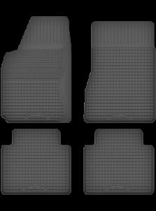 Alfombrillas de piso de goma Mercedes ML-Clase W163 con borde de 15 mm X286-P/_Y-3 Automatten