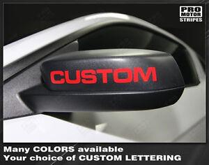 Chevrolet Camaro Side Mirror Highlight Stripes Decals 2014 2015 Pro Motor