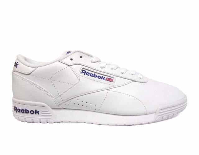 Reebok Classic EXOFIT LO CLEAN INT Men/'s Shoe NEW Lifestyle Fitness Black