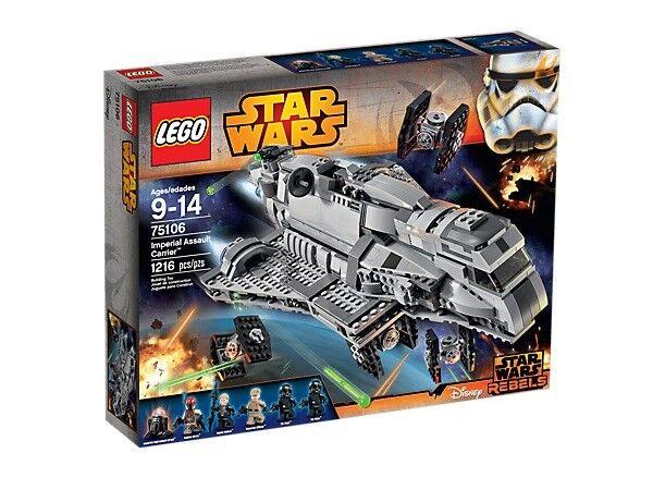 LEGO® StarWars™ (75106) Imperial Assault Carrier™  inkl.  Versand NEU&OVP
