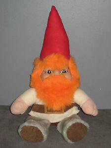 Détails sur Occasion Peluche/Doudou Nains (de jardin) Gnome/Lutin ( H:46cm)