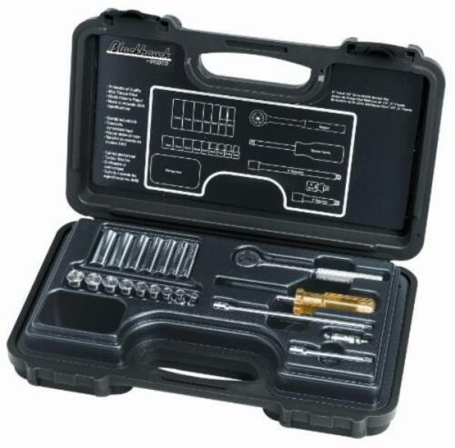Blackhawk By Proto 1421-MNB Drive 6-Point Metric Socket Set Containing 1//4-In...
