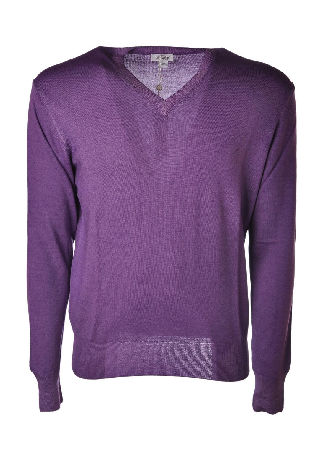 Viadeste  -  Sweaters - Male - Viola - 4678721A185711