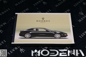 Betriebsanleitung-Handbuch-Bordbuch-Owners-Manual-Maserati-4200-Coupe-MY-2003
