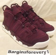 Air More Uptempo '96 QS 'Maroon' - 921949-600 - Size 10 -