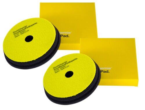2x KOCH CHEMIE Fine Cut Pad Polierpad Polierschwamm Schleifschwamm 150//23 mm