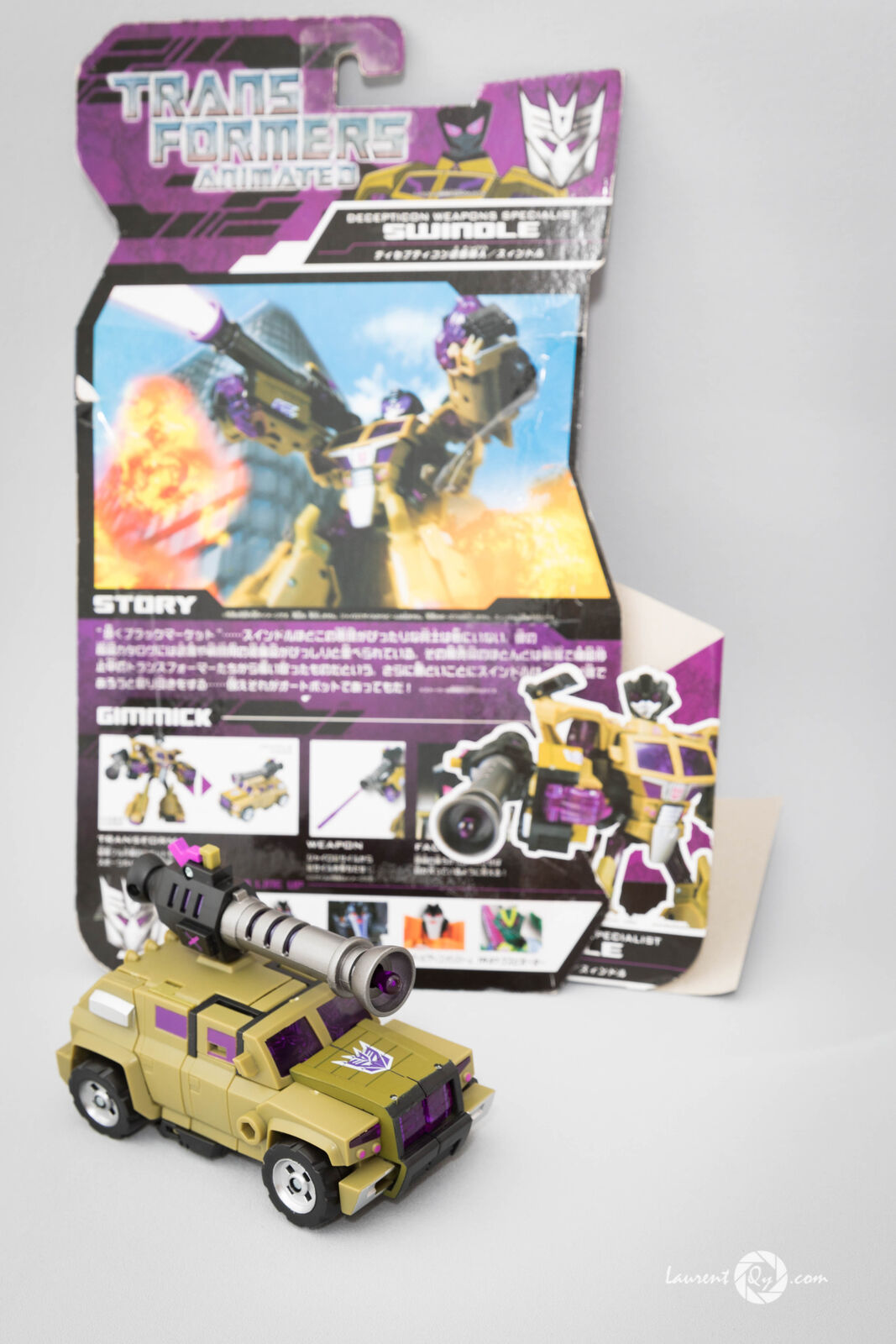Transformers SWINDLE -Animated- TA36 Takara import Japon RID robots in disguise