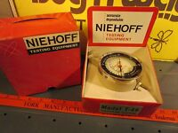 Niehoff Vacuum Gauge Engine Tester T-46 Fuel Pump Tester Inches Pounds Auto