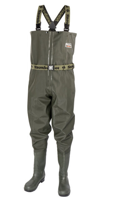SNOWBEE Granite PVC Fishing Chest Waders Cleated Sole - All Größes