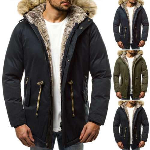 1016k Ozonee Wärmemantel Winterjacke Wintercoat Wintermantel Herren Parka Jb 14vwqA
