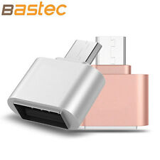 Bastec Metal Mini Micro USB To USB OTG Adapter 2.0 Converter for Samsung LG Sony