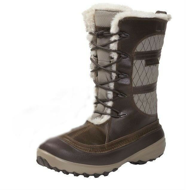 Columbia Women's Heather Canyon Waterproof Omni-Heat Dune Winter Snow Boots