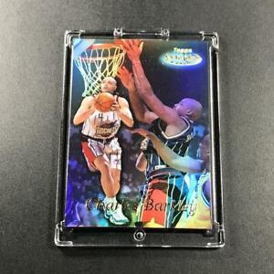 CHARLES BARKLEY 1999 TOPPS GOLD LABEL #GL5 REFRACTOR INSERT CARD NBA HOF
