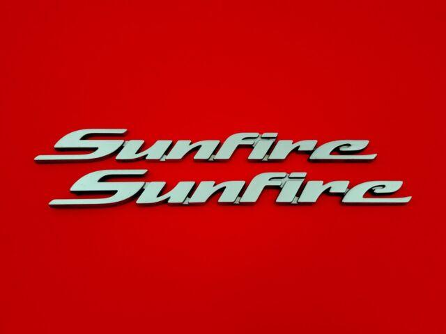 1995 2005 PONTIAC SUNFIRE SIDE DOOR EMBLEM BADGE SYMBOL