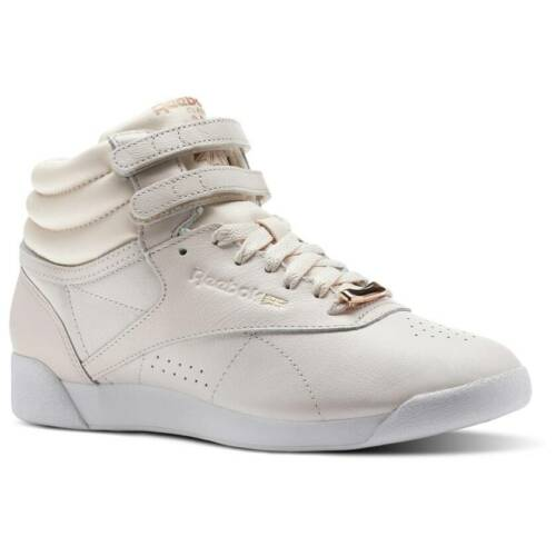Reebok Pale Pink White Cool Shadow Women/'s Freestyle Hi Muted CN1495