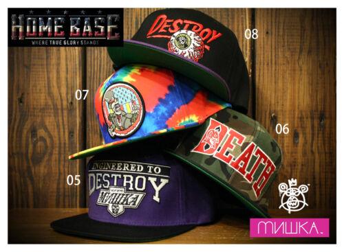 Starter MISHKA Snapback Hat Adjustable Assorted Design//Colors