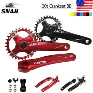 IXF-30T-104bcd-CNC-MTB-Bike-Crankset-BB-Narrow-Wide-Chainring-170mm-Single-Crank