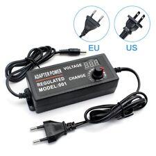Adjustable Power Supply Ac100v 240v To Dc 3 12v 3 24v 1a 3a 5a Universal Adapter