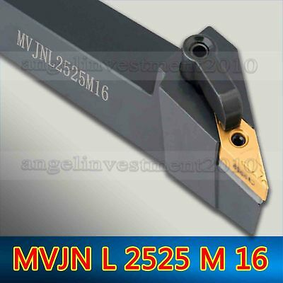 MVJNL2020K16 20×125mm Left Cylindrical turning tool holder For VNMG1604 inserts