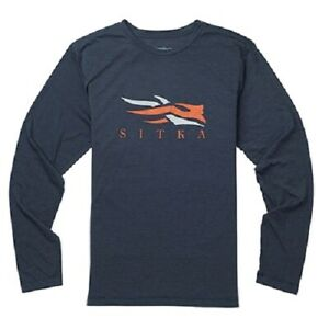 Sitka-Logo-Tee-LS-Ecipse-Heather