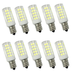 C7 Led Bulb >> Details About 10x E12 Candelabra C7 Led Light Bulb 64 2835 Ac Dc12v Low Voltage Ceramics Lamp