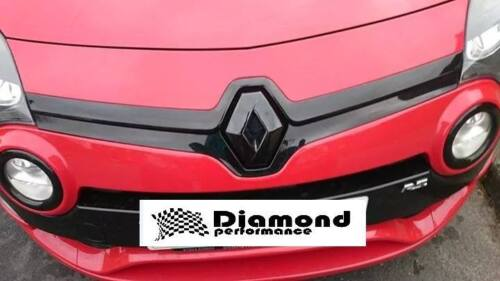 TWINGO II FACELIFT 2011-2014 GLOSS BLACK FRONT BADGE COVER white red blue green