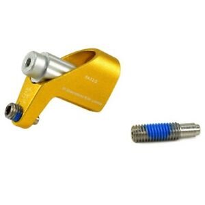 Axle Fitting Rear Mech Protector Gold