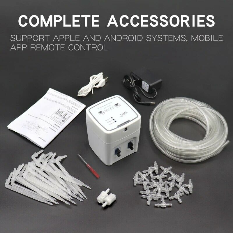 Automatic Drip Irrigation System Mobilephone WIFI Control Garden Watering Device