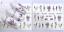 Adesivi-Unghie-Decalcomanie-Nail-Art-WATER-Decals-Stickers-Lavande-Fiori-Farfall miniatuur 17