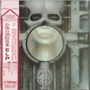 EMERSON-LAKE-PALMER-BRAIN-SALAD-SURGERY-JAPAN-MINI-LP-CD-OBI-NEUF-VICP-62118