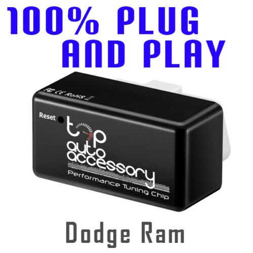 Performance Tuning Tuner Speed OBDII OBD2 OBD 2 II Chip for Module Dodge Ram
