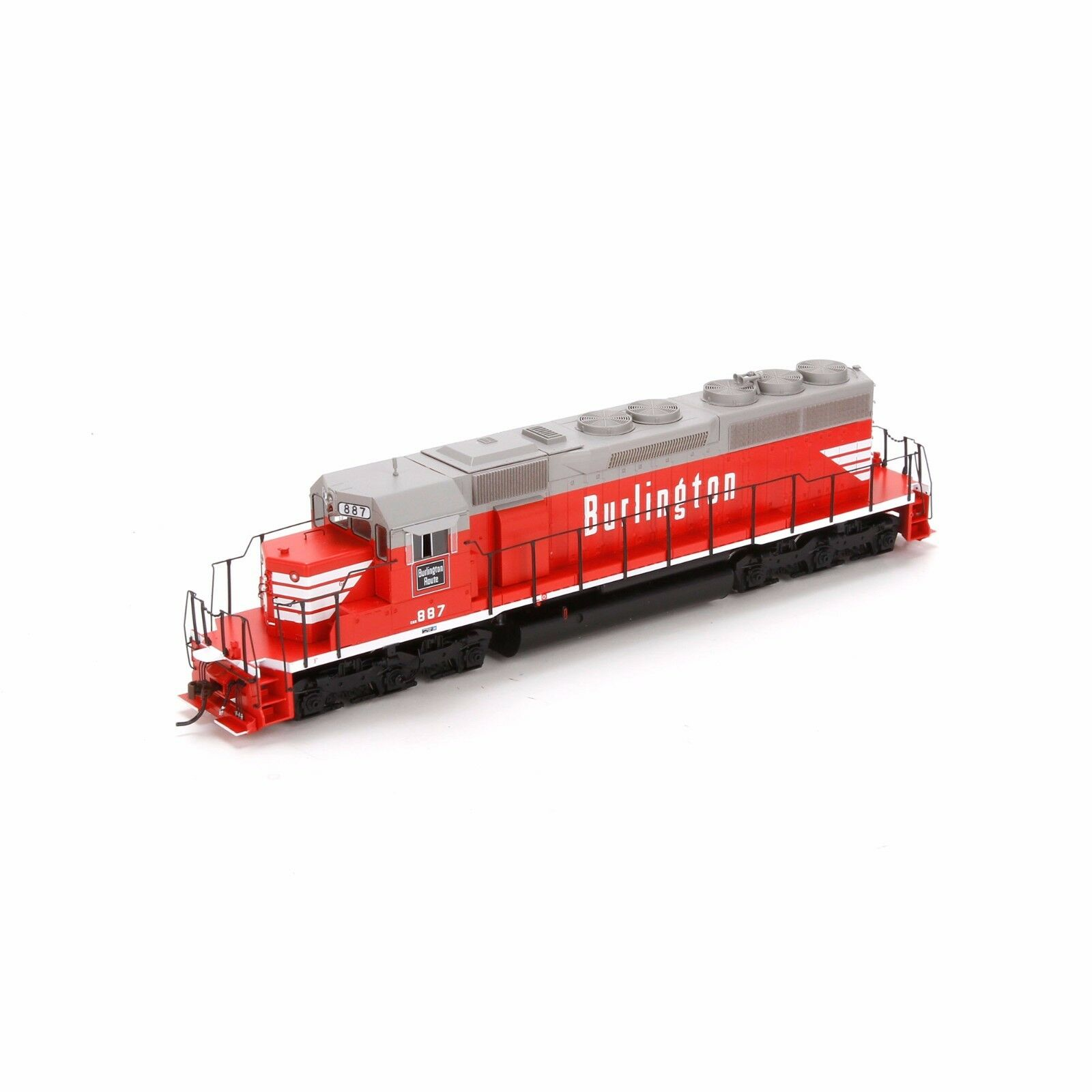 HO Scale SD40 Locomotive w DCC &C suono - CB&Q C&S  887 - Athearn  98807