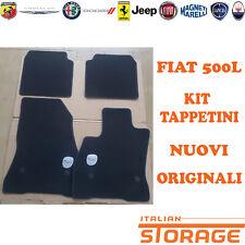 Original Fiat 500L Velours Fußmatten Satz 4 Teilig 50926900 NEU