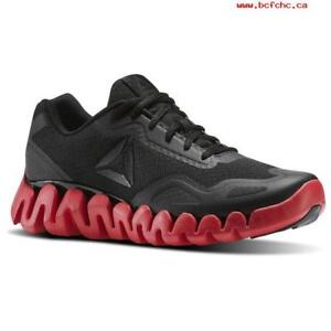 Details About Reebok Men S Zig Pulse Mens Black Red Sole Running Shoes Cm8715 All Sizes