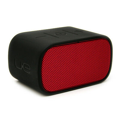 Logitech UE Mobile Boombox Red/Black Bluetooth Speaker and Speakerphone