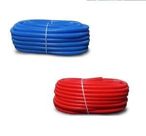 wellrohr leerrohr 21 25 23 28 blau rot f r alu verbundrohr oder kabel uvp ebay. Black Bedroom Furniture Sets. Home Design Ideas