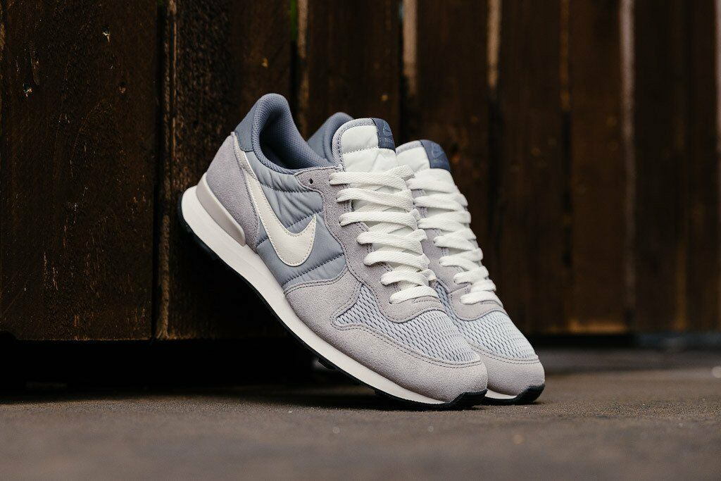 Nike Internationalist Grey White size 13. 828041-015. air max flyknit tan Cheap and beautiful fashion