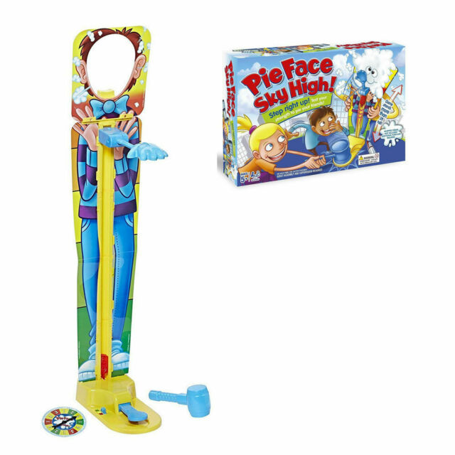 Pie Face Sky High Multiplayer Family Fun Game Toy Gift