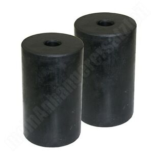 2x gummifeder gummipuffer 63x100mm f r ddr anh nger hp 300. Black Bedroom Furniture Sets. Home Design Ideas