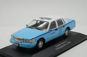 Lincoln Town Car Taxi Washington D C 1996 1 43 Ebay