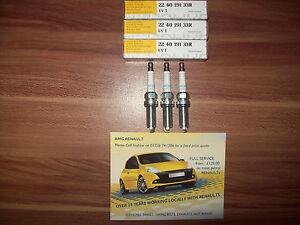 Acheter Pas Cher Genuine Renault Senté 0.9 Tce Moteur H4b 2014 Sur Spark Plugs - 224019133r-afficher Le Titre D'origine